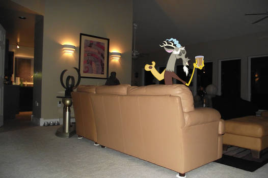 Discord in the Living room