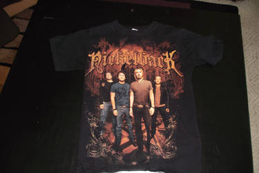 Nickelback shirt by Venom2204