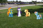 Ponies at my school