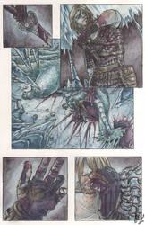 Sigurd and Fafnir by Toradh