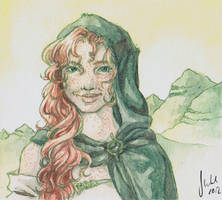 The Witch of the Highlands by Toradh