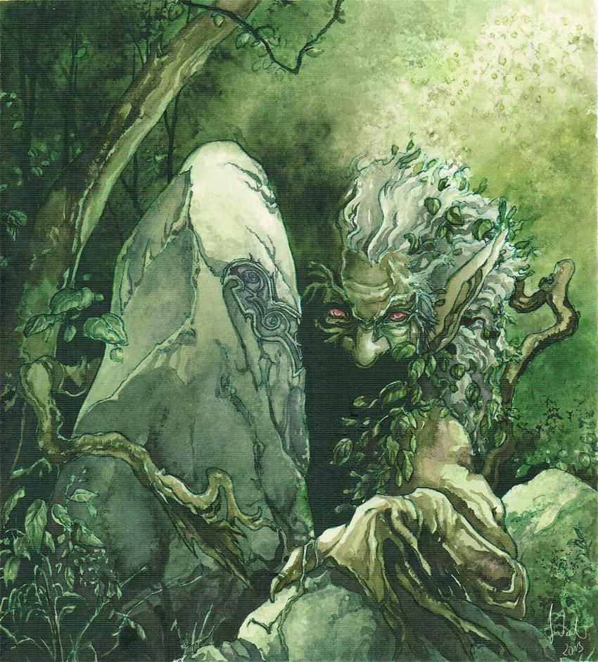 Trollskog by Toradh