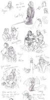 Tolkien Sketches 02