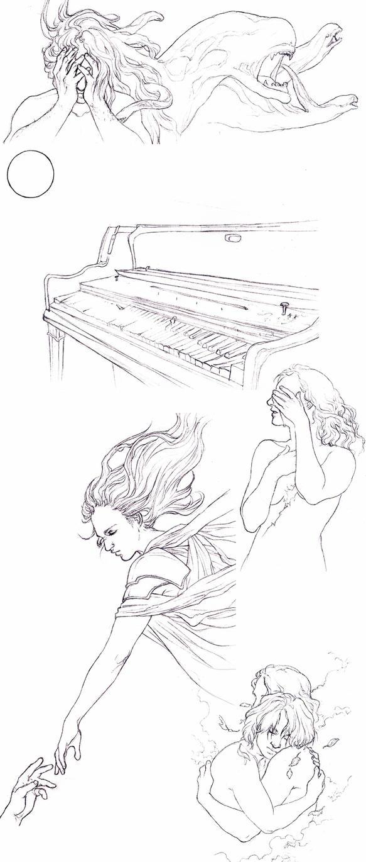 In Legend Sketchdump by Toradh