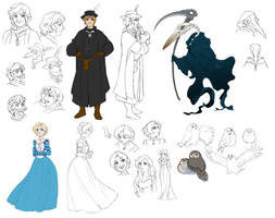 Death And The Healer Designs