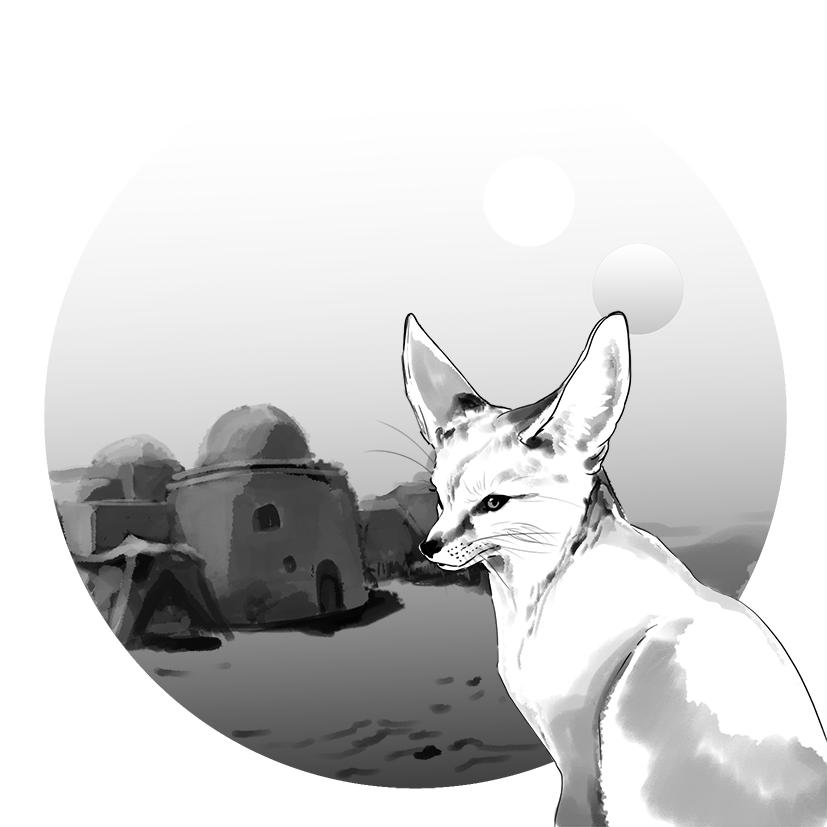 Fennec by Toradh