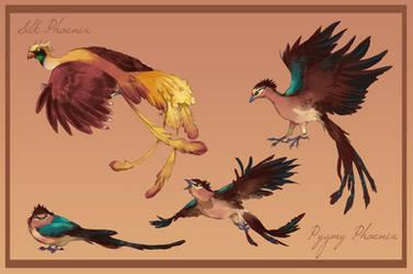 Phoenixes by Toradh