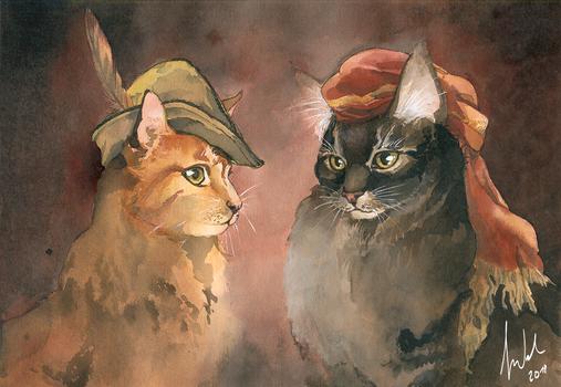 Renaissance Kitties