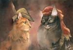 Renaissance Kitties by Toradh