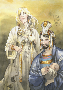 White Lady of Numenor