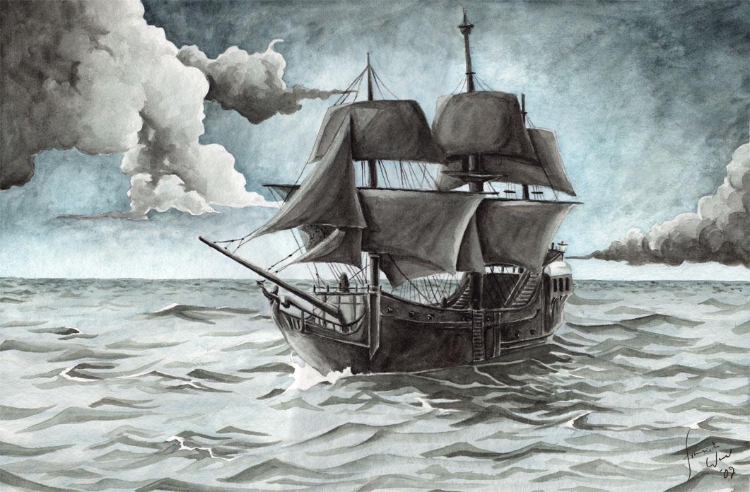 La Folie de Japhet, un Repaire de Pirates (Descriptif) The_Black_Pearl_by_Toradh