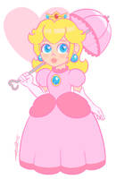 Princess Peach by Nokills-Clan196
