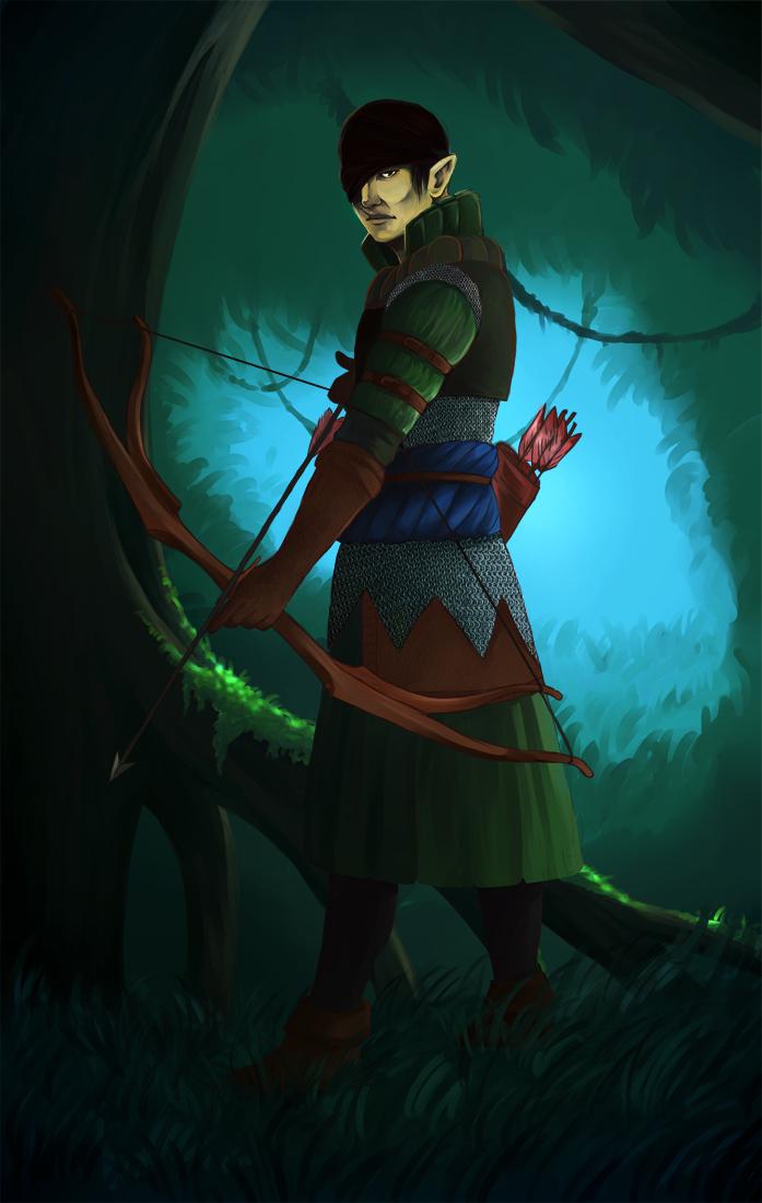 Witcher 2 - Iorveth by busik