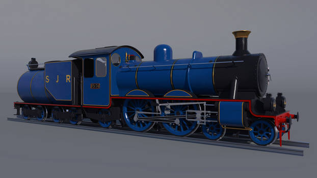 North Sea the Express Engine