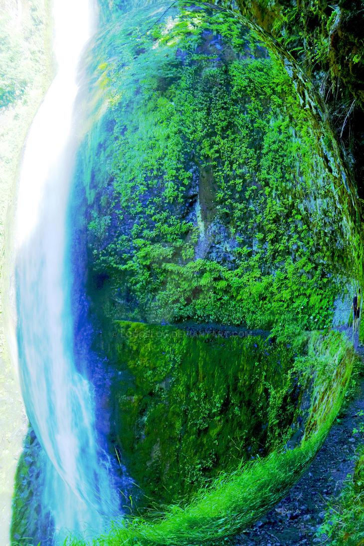 Waterfall Planet by LOGofLOG