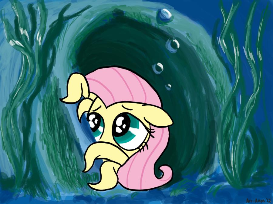 Octoponies: Fluttershy by Art-Anon