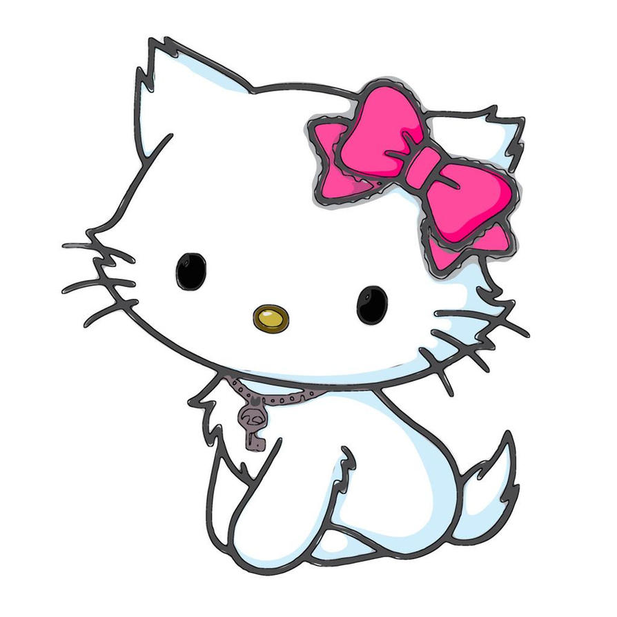 Hello Kitty Border Clip Art