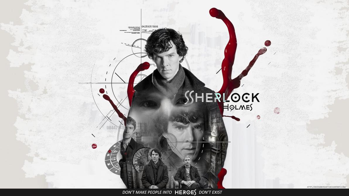 sherlock holmes bbc wallpaper by decemberdayt on deviantart