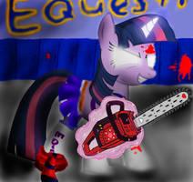 Lollipop Chainsaw feat. Twilight Sparkle by bridgetn88