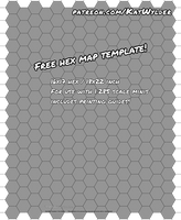 Free Hex Map Template