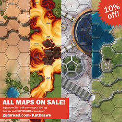 New Maps on Sale!