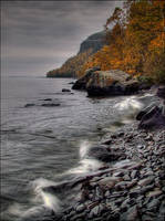 The Shores of Autumn Past 3 by wb-skinner