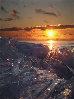 Iceworld at Dawn