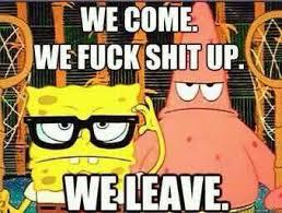 Badass Spongebob and Patrick by AC-MONEY