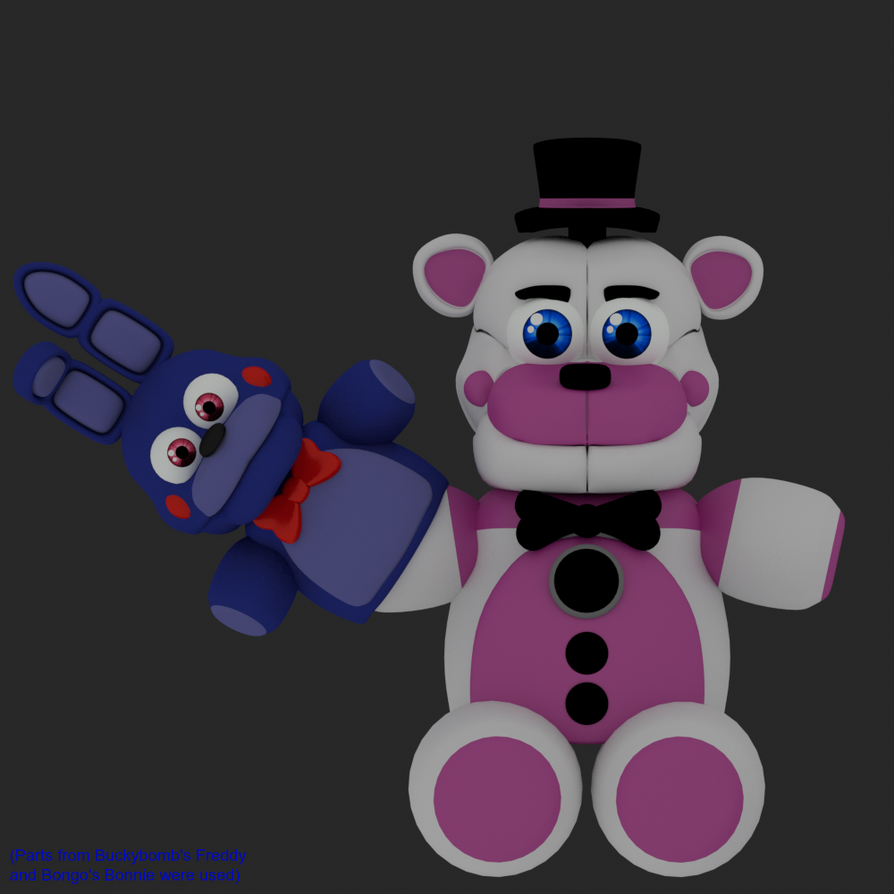 Funtime Freddy Plush By Jorjimodels On DeviantArt