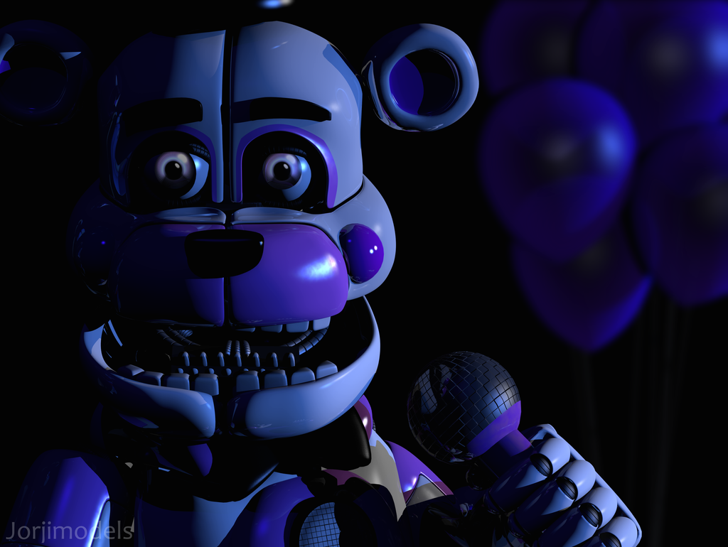 Mmd Funtime Freddy: Funtime Freddy Icon Render Remake (OLD) By Jorjimodels On