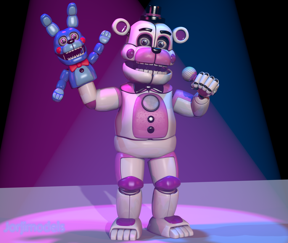 Funtime Freddy V5 By Jorjimodels On Deviantart
