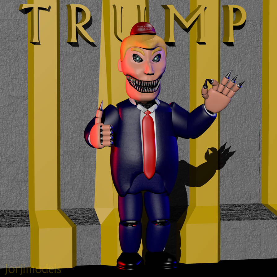 Nightmare Donald Trump by jorjimodels on DeviantArt
