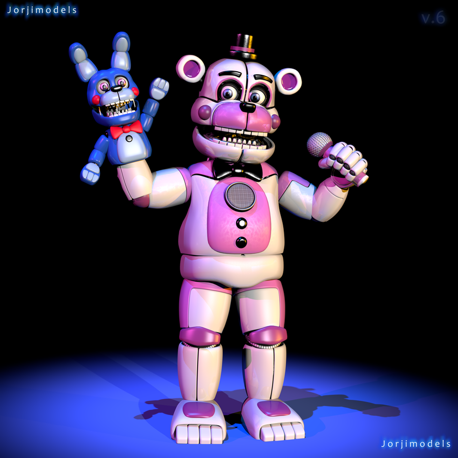 Funtime Freddy V6 By Jorjimodels On DeviantArt