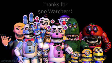 Thanks For 500 Watchers!