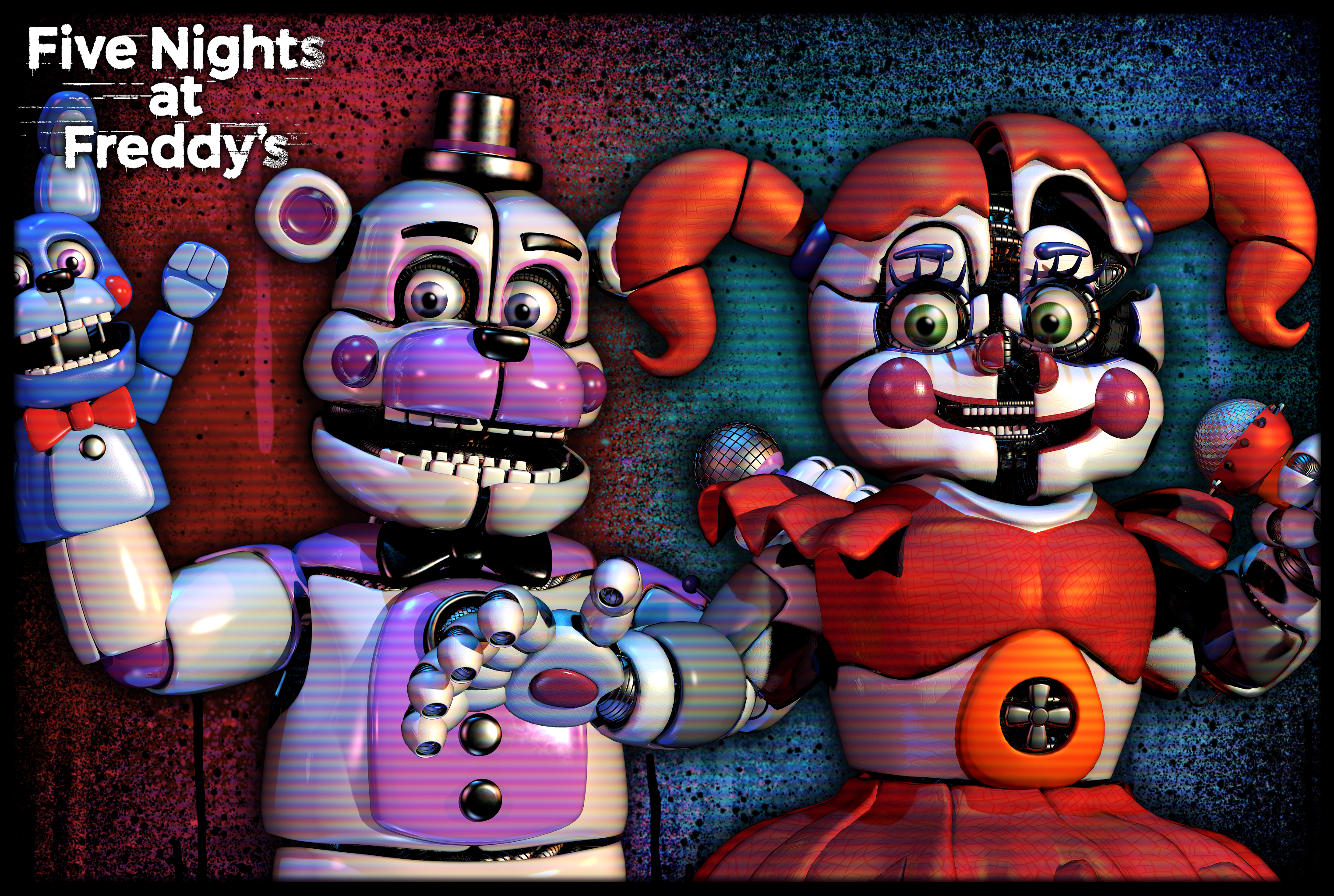 Sister Location Wallpaper By Jorjimodels On Deviantart