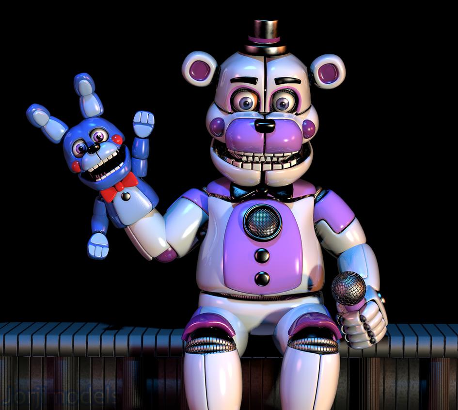 Funtime Freddy By Jorjimodels On Deviantart