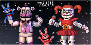 Sister Location Collab Poster