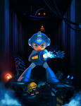 Mega man the Blue Avenger