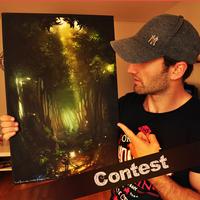 CONTEST: Legend of Zelda Canvas print!