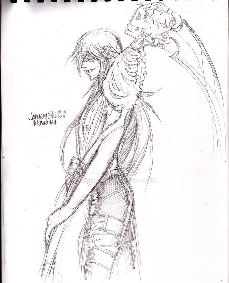 Death Scythe by TheMiko
