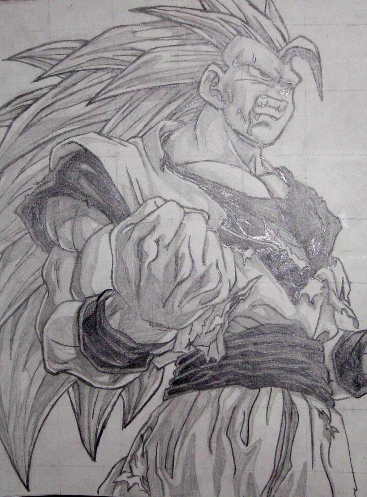 Dragon ball z by tat2chick on deviantart for Cool detailed drawings