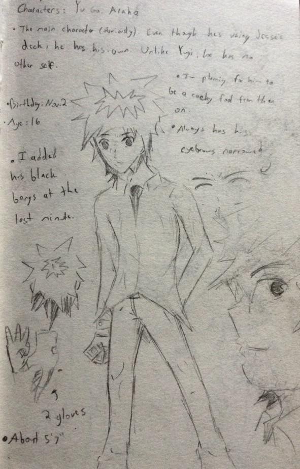 CW Pg. 10/ Character Bio by Hayoto-san