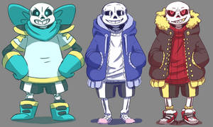 Sans Reference Sheet by Poetax