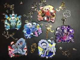 Undertale Charms by Poetax