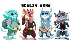 Goblin Sans by Poetax