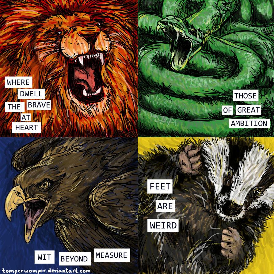 Hogwarts House Pride By TomperWomper ...
