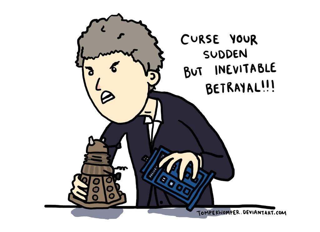 Into the Dalek by TomperWomper