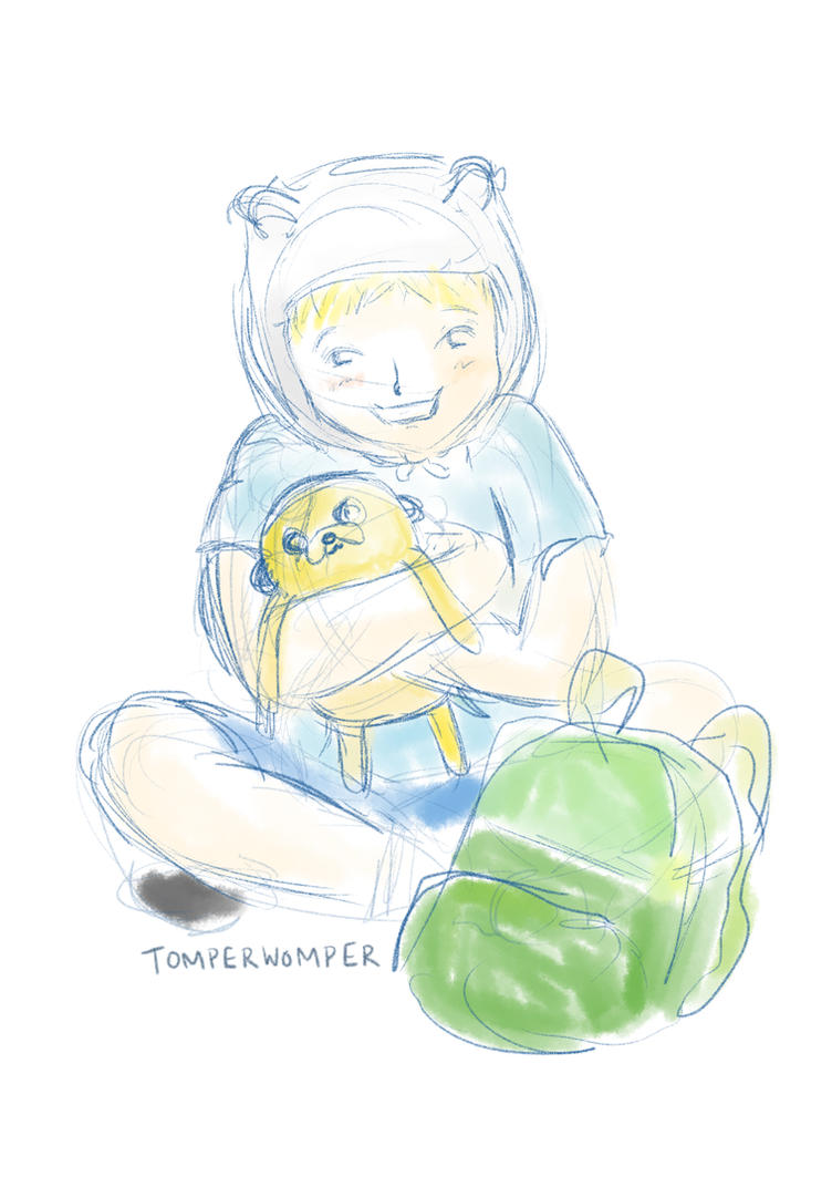 Finn the Human by TomperWomper