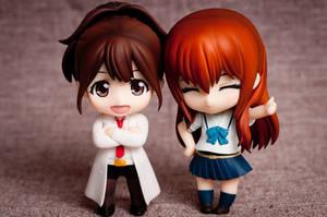 Akiho+Kurisu (crossover edition)
