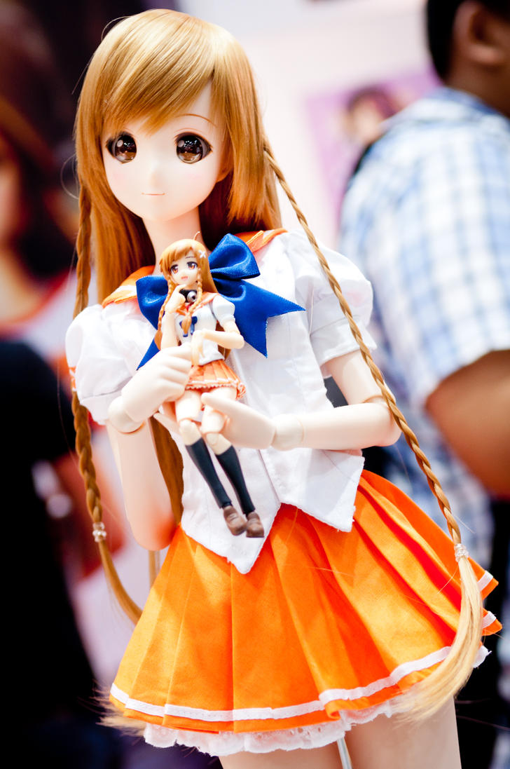 Mirai Suenaga (Default ver.) by Etherien